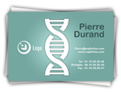 Carte de visite scientifique - adn